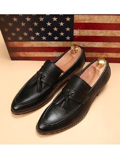 Sepatu Pantofel Pria Model Terbaru Mei 2016 MO1603103