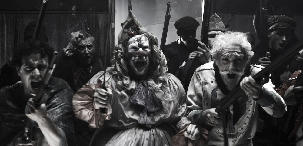 coulrophobie traurige clowns