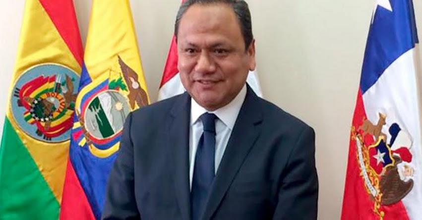 Eligen a Mariano González vicepresidente del Parlamento Andino