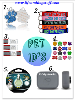 Pet id tags and collars to shop