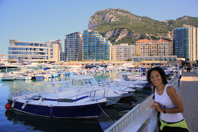 Ocean Village and marina in Gibraltar