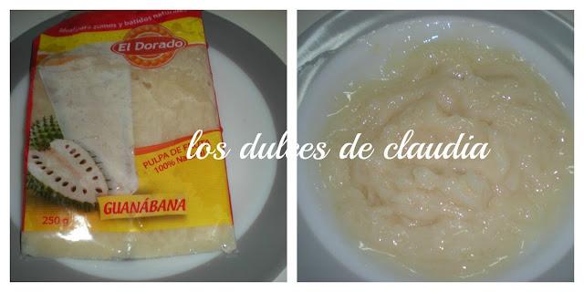 soufle de guanabana