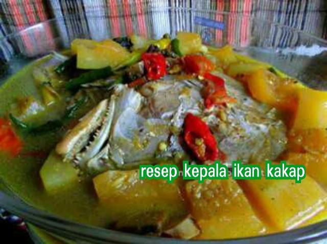 resep masak ikan kakap