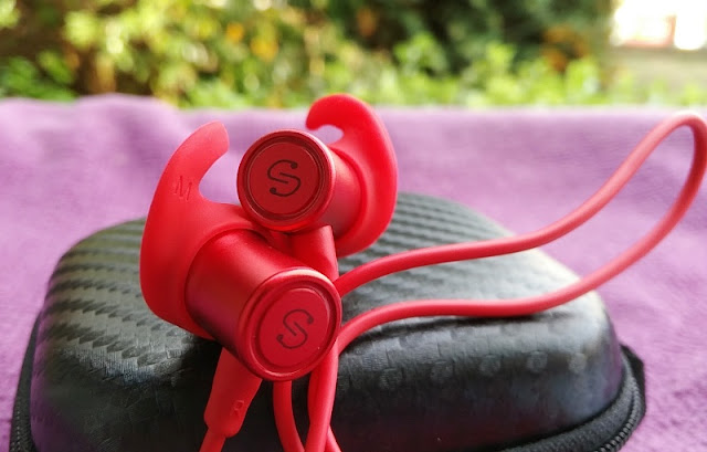Soundpeats Q30 Addition Aptx Ipx6 Bluetooth Gym Earphones