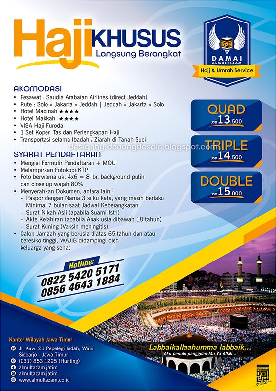 Contoh Desain Brosur Haji Dan Umroh Contoh Desain Banner Spanduk