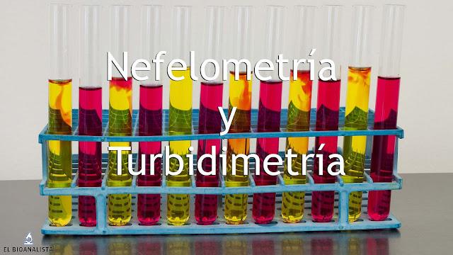 Turbidimetría, nefelometría y dispersión de luz