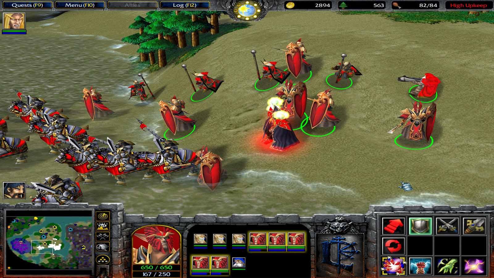 تحميل لعبة Warcraft 3 Collection مضغوطة كاملة بروابط مباشرة مجانا