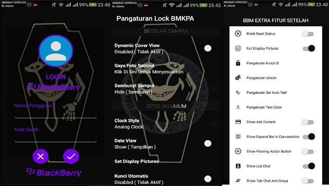 bbm mod bmkpa style v3.3.1.24 Apk Unclone terbaru