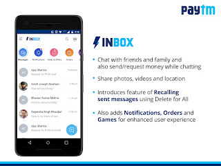 Paytm launches 'Inbox': a messaging platform with in-chat payments