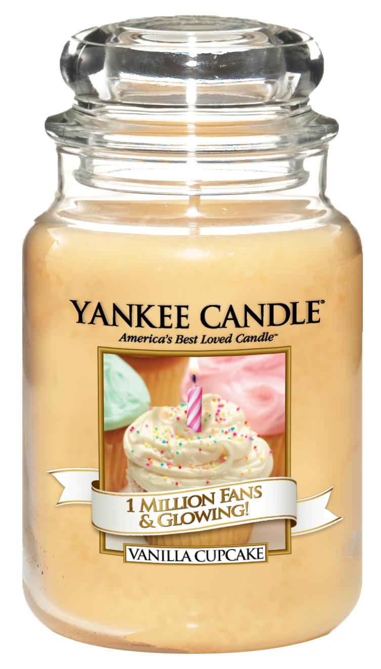 Yankee Candle 1 Million Fans Glowing