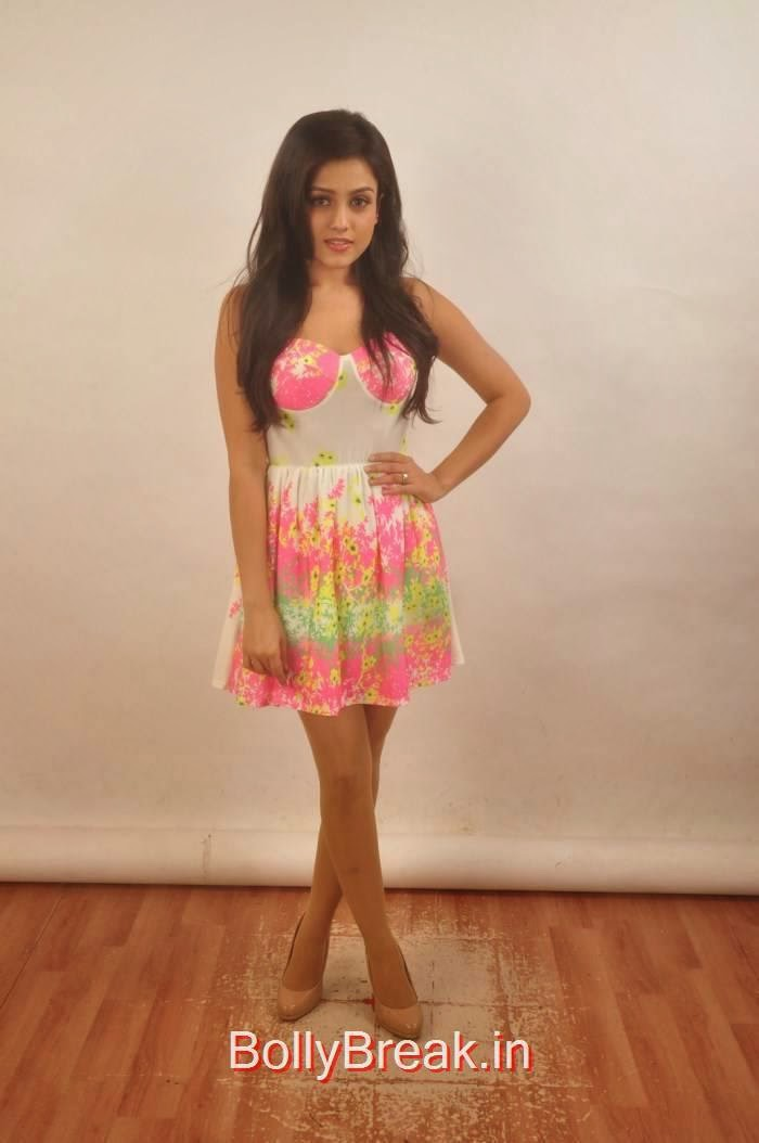 Mishti Chakraborty Pics, Mishti Chakraborty hot HD Images in short Dress