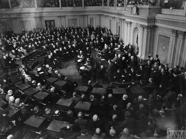 Winston Churchill addressing the US Congress, 26 December 1941 worldwartwo.filminspector.com