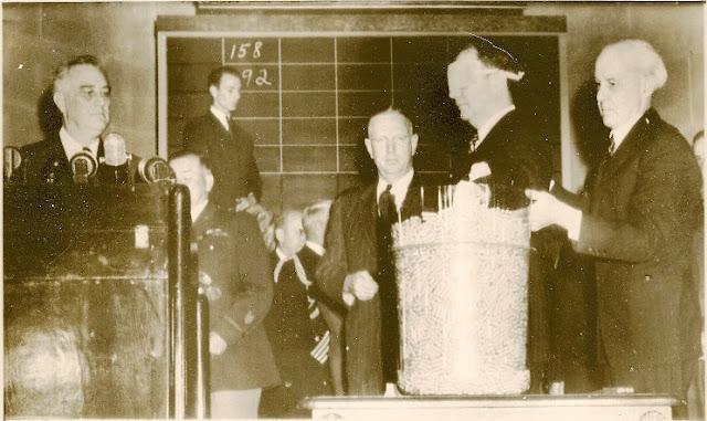 29 October 1940 worldwartwo.filminspector.com Robert Jackson Franklin Roosevelt draft lottery