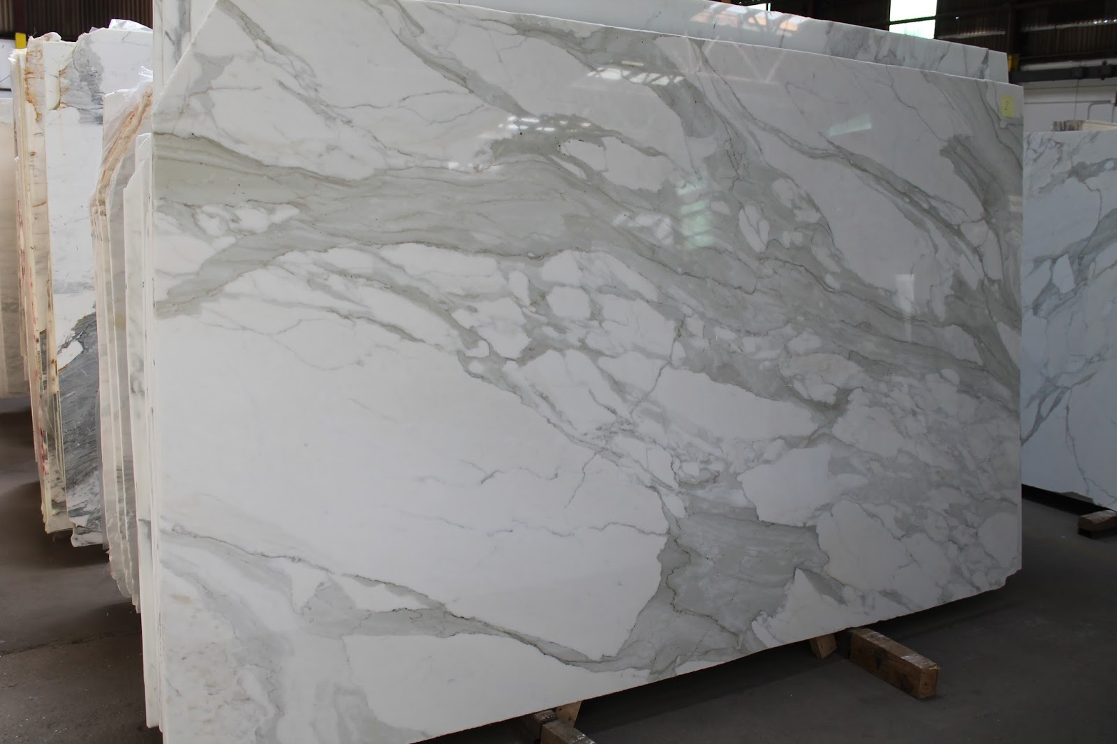 white marble kitchen countertop slabs marble kitchen countertops 2 Calacatta Gold Polished Marble Slabs in New York