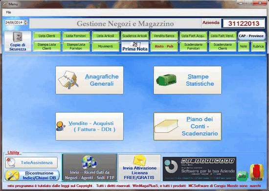 WinMagaPlus Gestionale