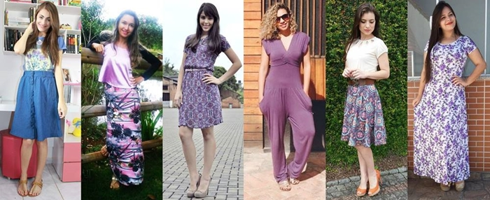Look do dia, moda, beleza, Lookoftheday, Resenha, Look do dia Lilás