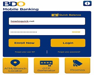 How to Register your BDO Account to Online Mobile App Banking