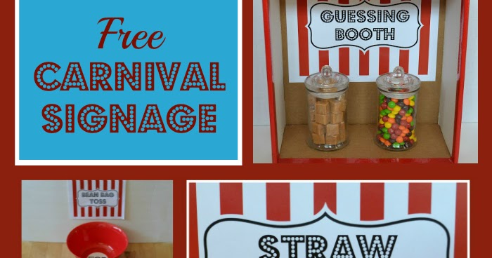 graphic regarding Concession Stand Signs Printable identify East Coastline Mommy: Carnival Signage