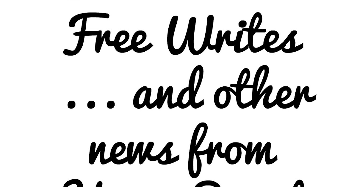 Home Sweet Life: 31 Days of Five Minute Free Writes