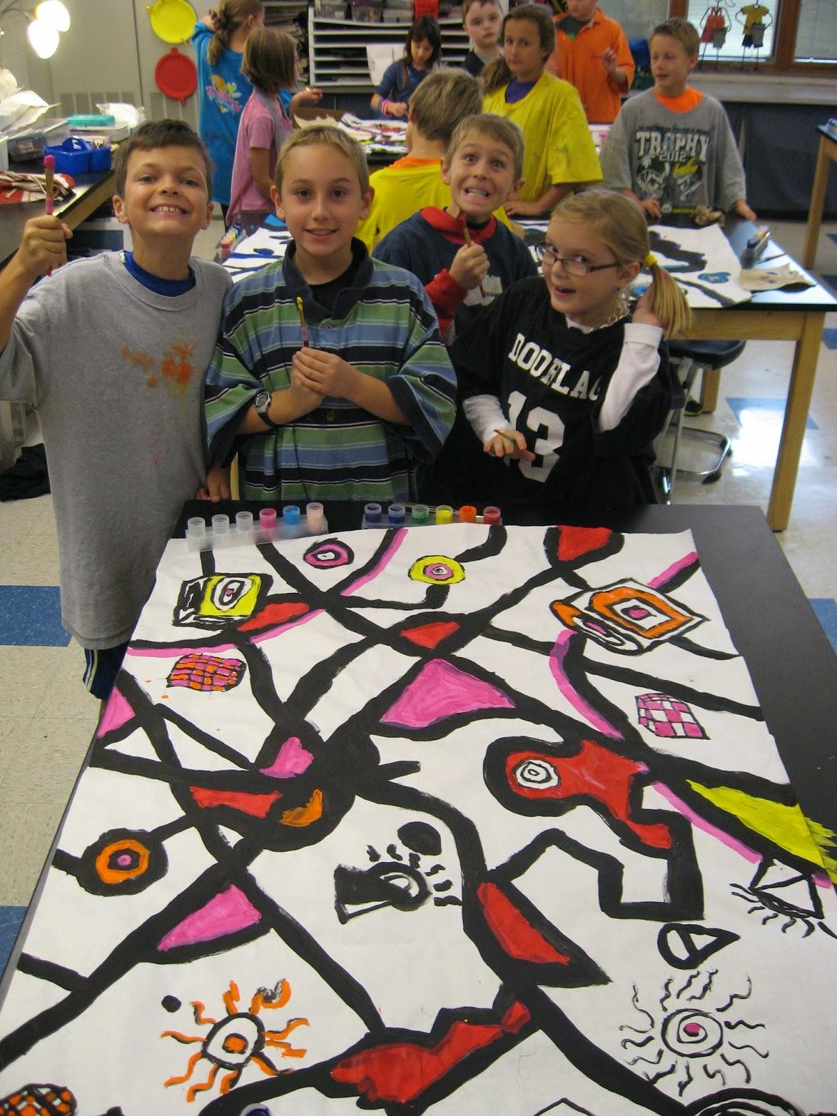Jamestown Elementary Art Blog 4th Grade Abstract