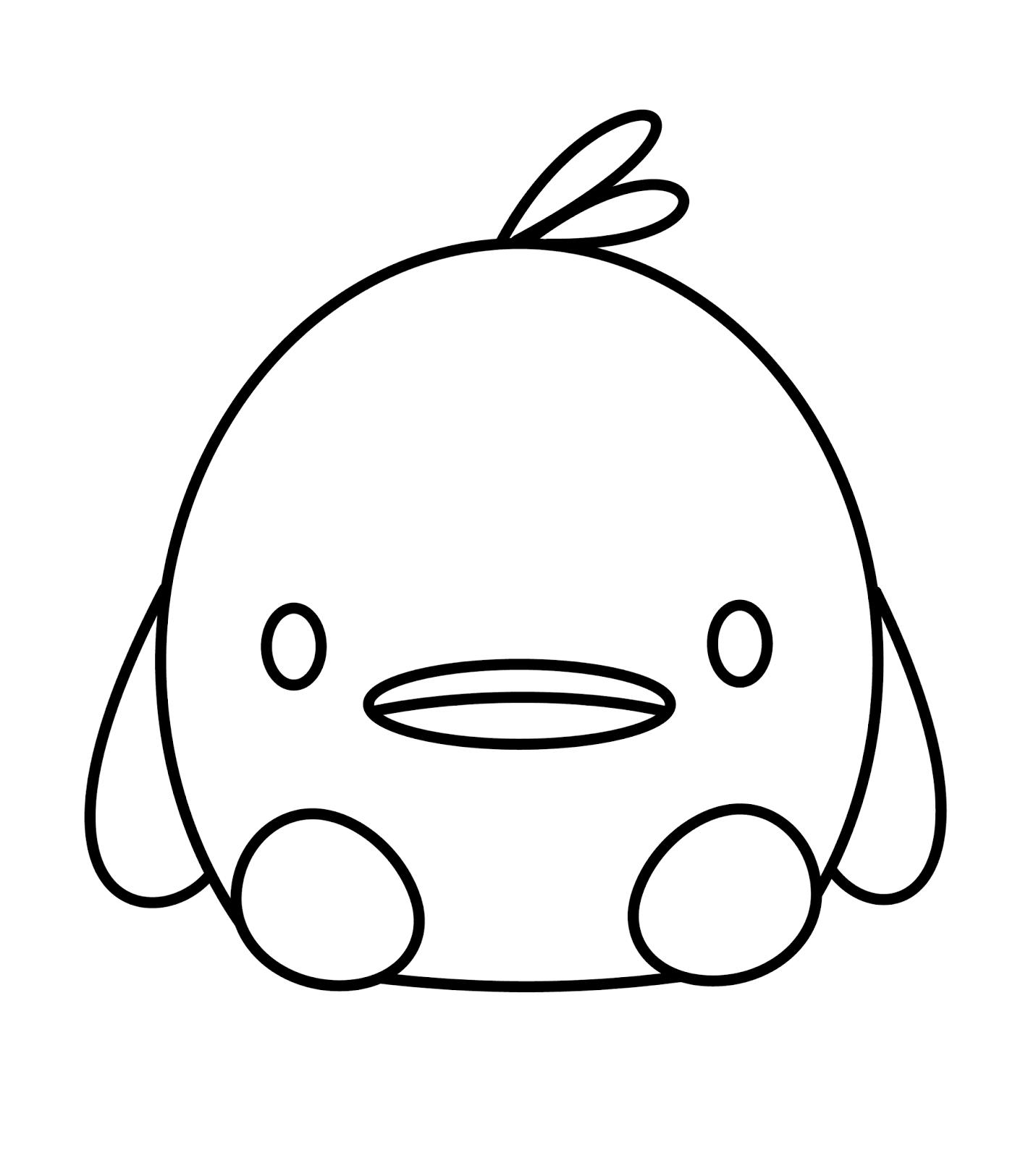 Cute N Kawaii: How To Draw A Kawaii Duck