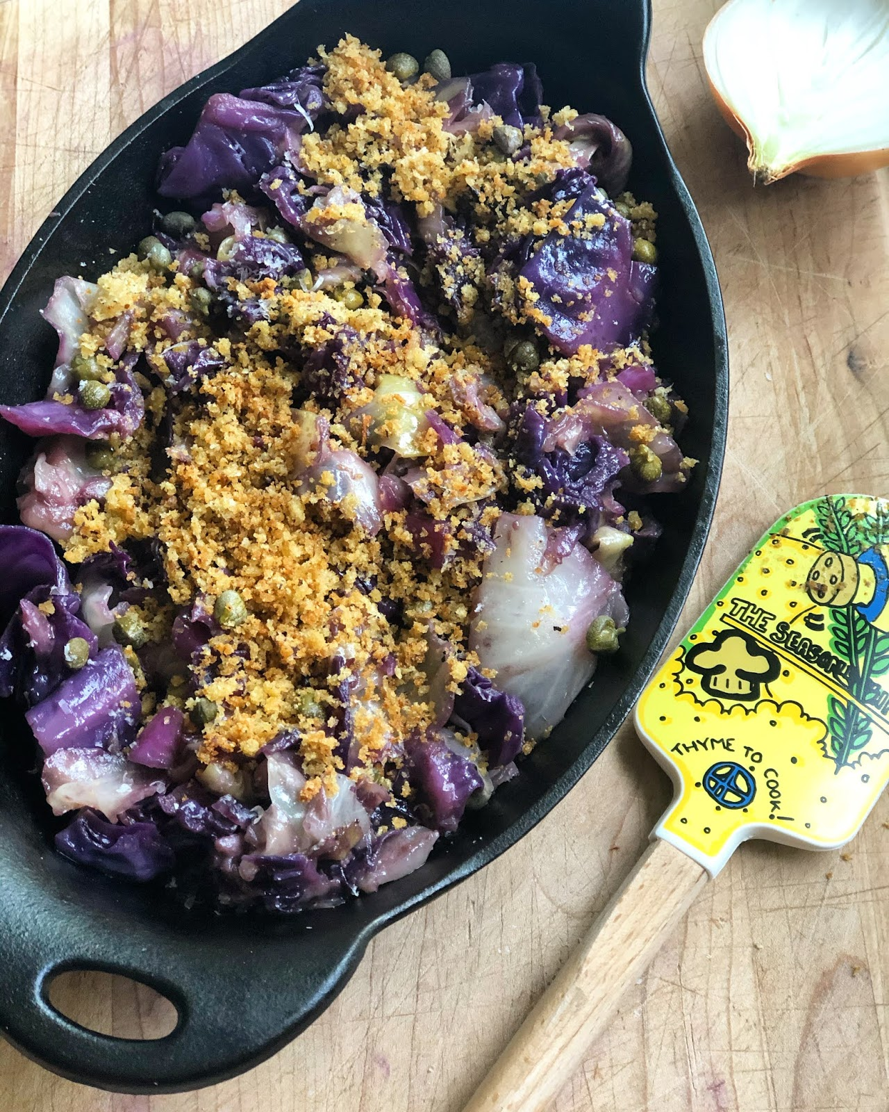 Obsession Roasted Cabbage