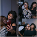 UCHE JUMBO TAKE SOME SELFIE WITH HER FANS...