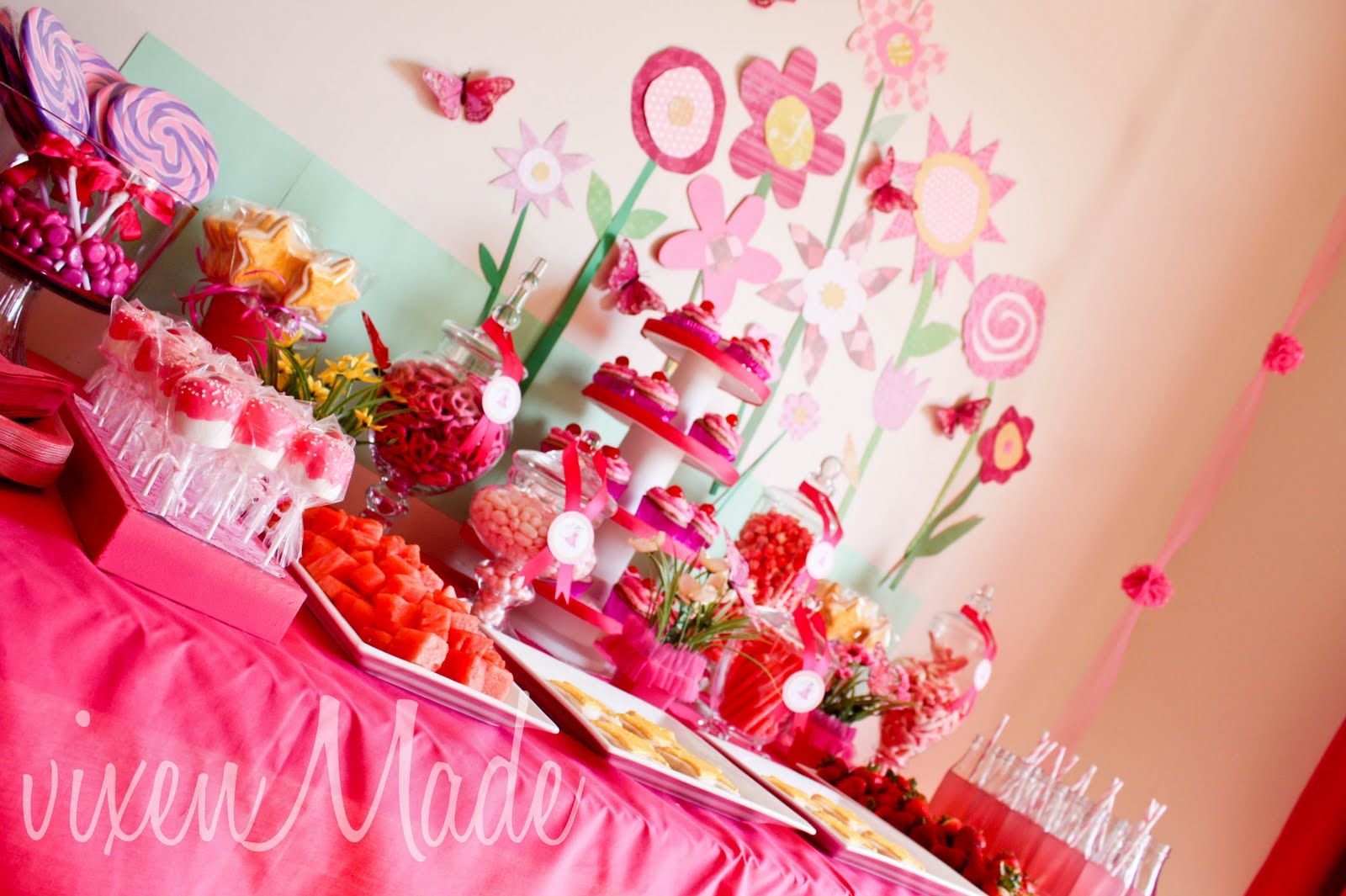 Pinkalicious Party - vixenmade parties