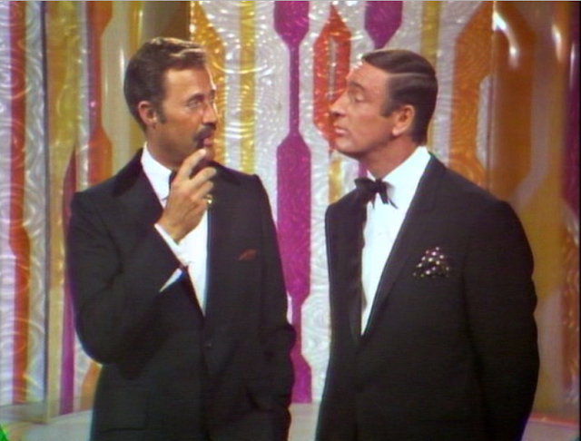 Dan Rowan and Dick Martin on Rowan & Martin's Laugh-In