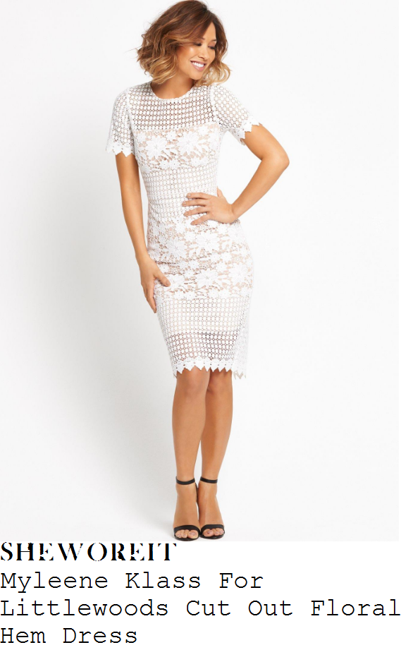 myleene-klass-myleene-klass-white-sheer-floral-crochet-lace-short-sleeve-scallop-edge-dress