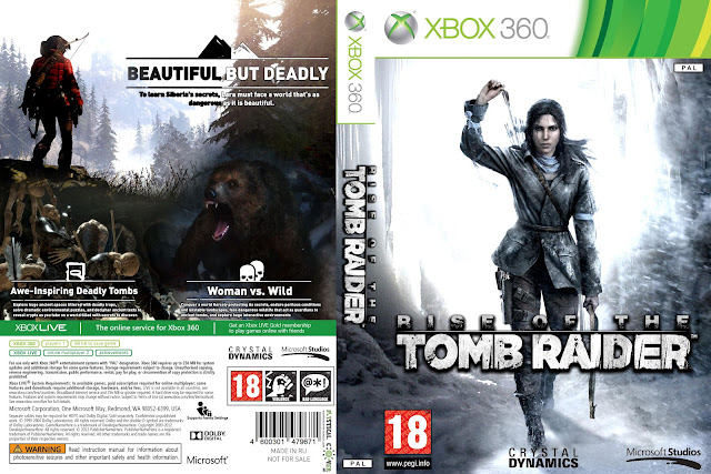 Capa Rise Of The Tomb Raider Xbox 360