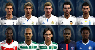Facepack good quality x4 Pes 2013 By Vicen