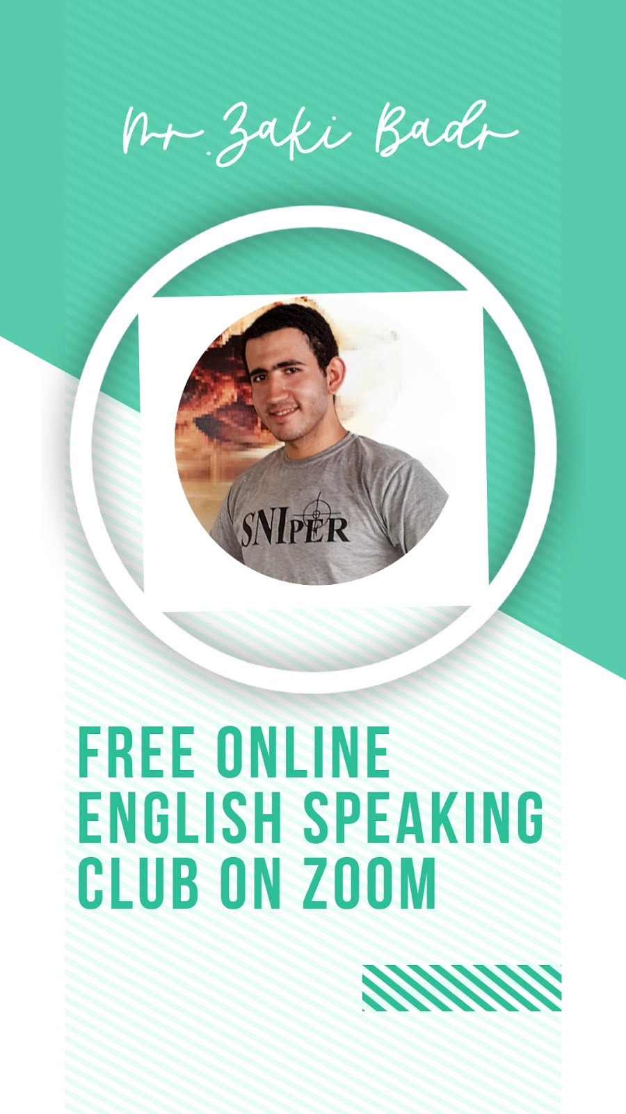 Free Online English Speaking Club on Zoom
