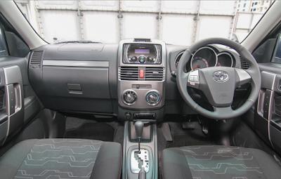 Interior Toyota Rush Edisi Keempat