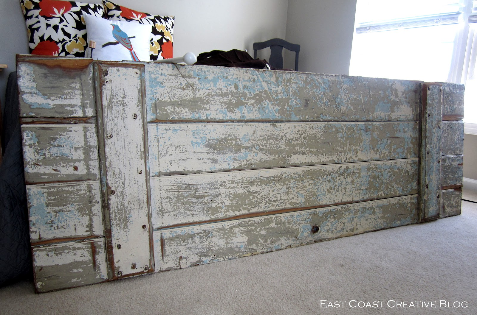 How To Make A Headboard Shutter