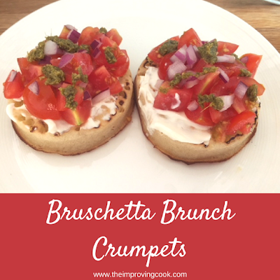 Bruschetta Brunch Crumpets