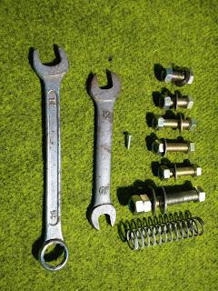 Ukuran Baut, Mur, O-Ring, Kunci Pas untuk Mesin Amplas Rakitan
