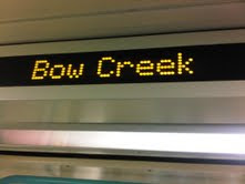 Bow Creek - DLR