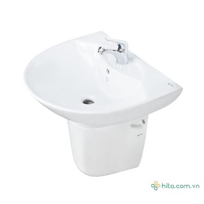 Chậu rửa mặt lavabo treo tường giá rẻ Inax