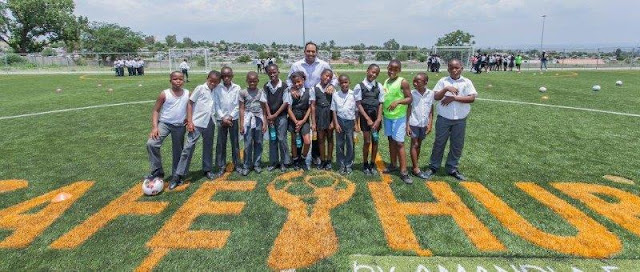@MontecasinoZA Touches Young Lives #CSR #Diepsloot @TsogoSun
