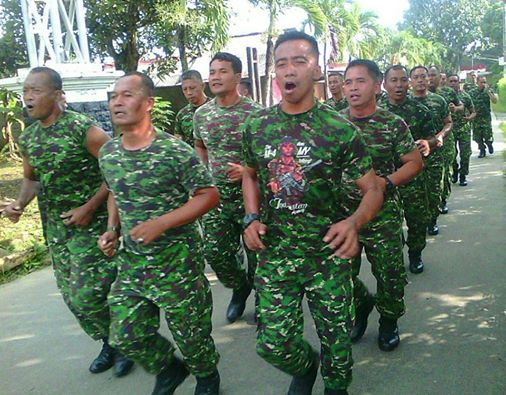 Prajurit Kodim 0508/Depok Jalani Minggu Militer