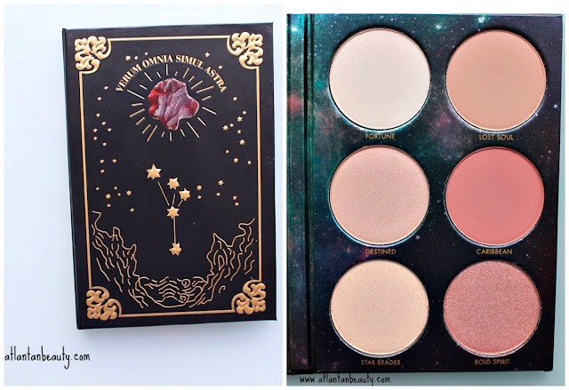 Lorac's Pirates of the Caribbean Cheek Palette Review and Swatches