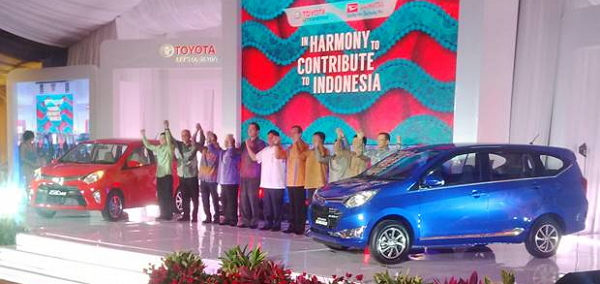 Toyota Calya Dan Daihatsu Sigra di Resmikan Astra Motor