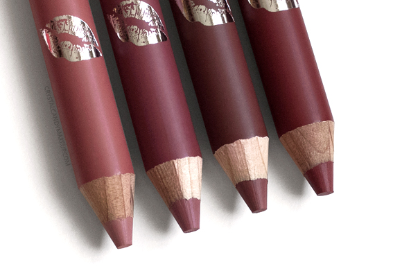 Buxom Plumpline Lip Liners Review Incognito Hush Hush Undercover Covert Affair
