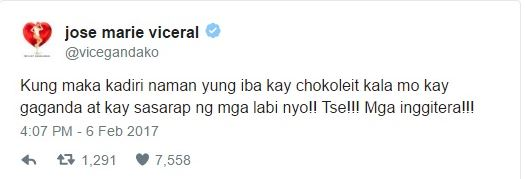 Vice Ganda Responded To Chokoleit's Controversial Kissing Video!
