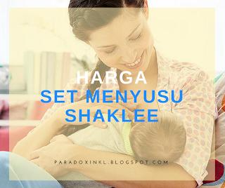 Harga Set Menyusu Shaklee