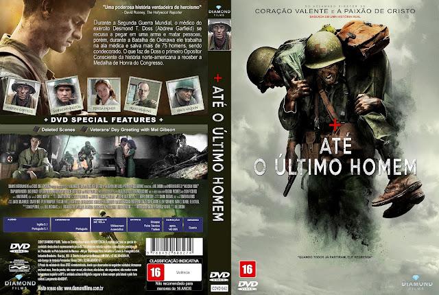 Capa DVD Até o Último Homem [Custom]