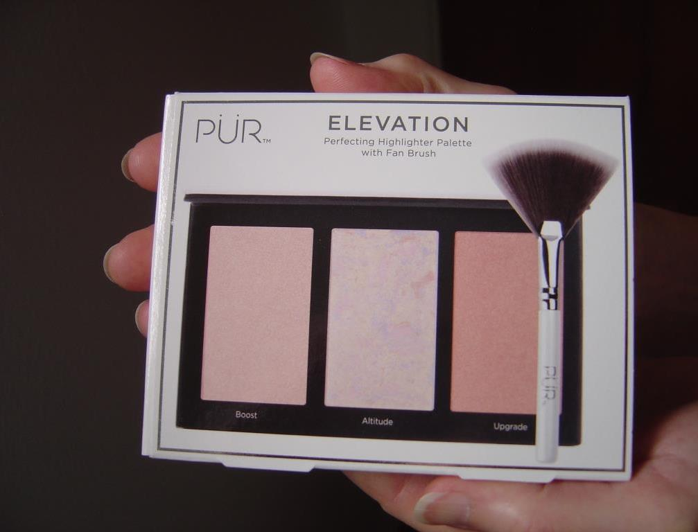 PUR Cosmetics Elevation Mini Highlighter Palette back