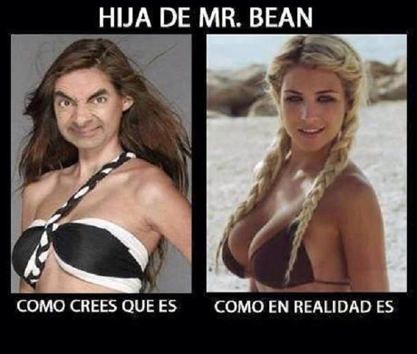Hija de Mr. Bean