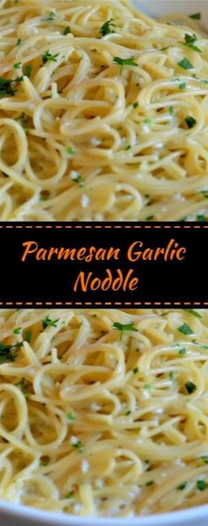 Parmesan Garlic Noddle
